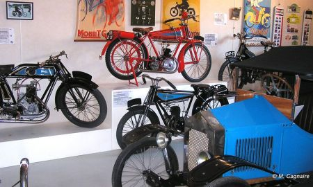 Collection de Motocyclettes Monet et Goyon, Melle